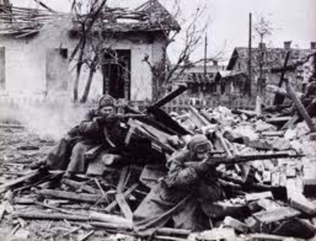 Red Army defeats in Stalingrad