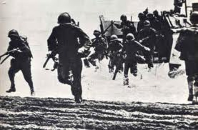 Allied Forces defeat of Battle of Guadalcanal
