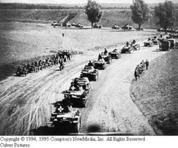 Blitzkrieg(lightening war)