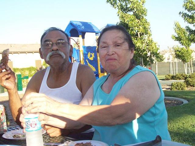 My grandpa dies.