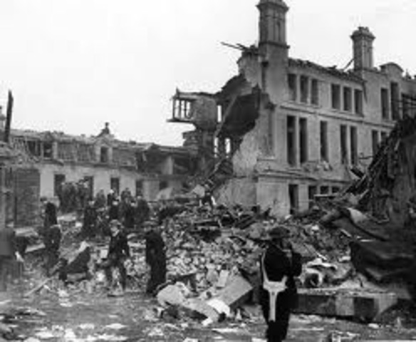 Bombing campaign in England