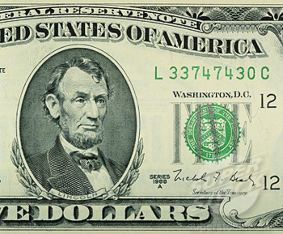 Redesign of $5 and $10 bills