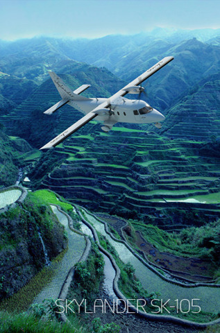 1er vol d'essai du Skylander repoussé de 6 mois