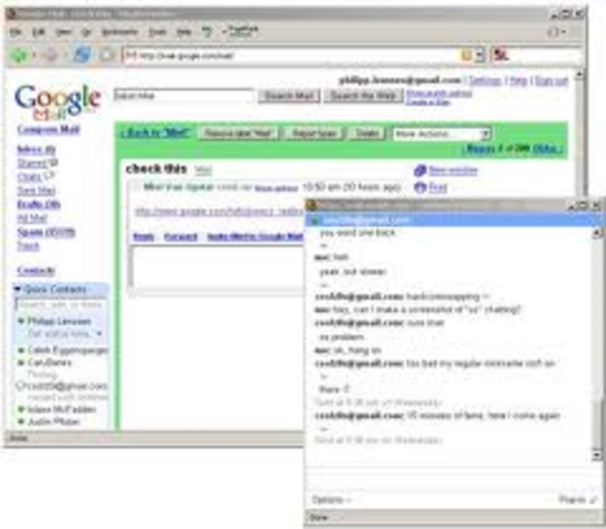 Google release Chat in Gmail,