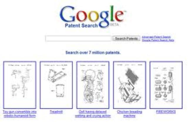 Patent Search.