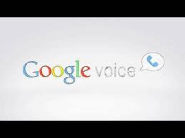 Google Voice.