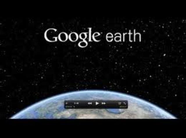 Google Earth 1 billion mark.