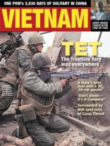 North Vietnamse join Forces with the Vietcong