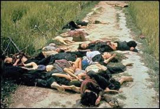 Hundreds of civilians killed