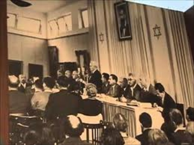 Made comments to the Mapai council regarding the flight of Arabs from Jerusalem