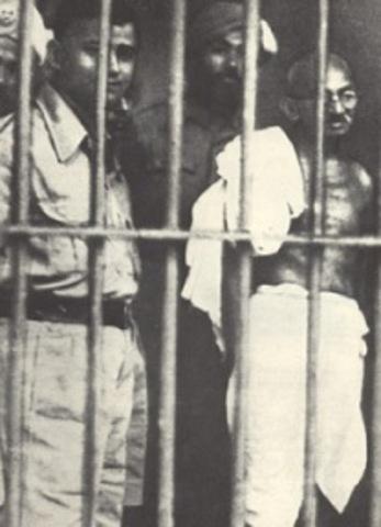 Gandhi sent to jail