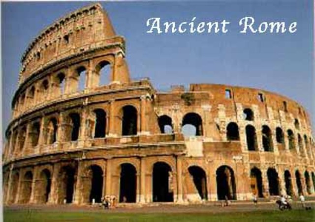 Ancient/Classical Rome BC