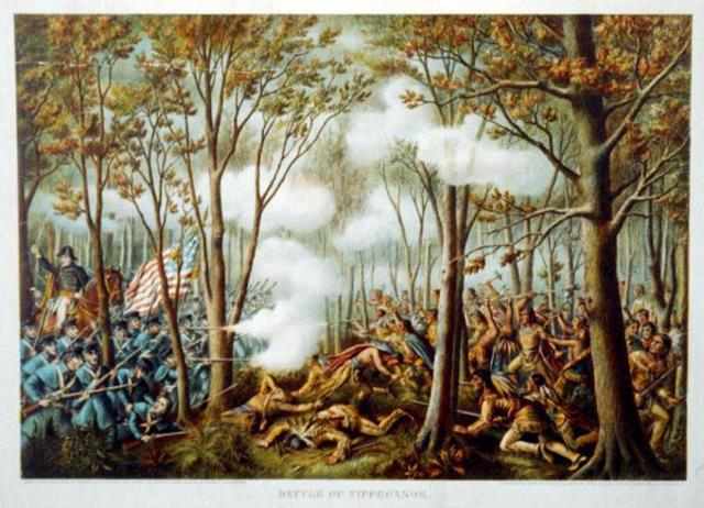 Causes of the War of 1812: Tensions between Americans and Native Americans, example-the Battle of Tippecanoe
