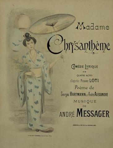 Mme. Chrysantheme by Pierre Loti
