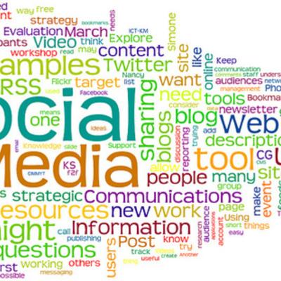 Evolución de los Medios Sociales timeline
