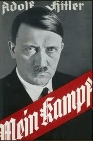 """Hitler's Book """"Mein Kampf"""" Is Published."""