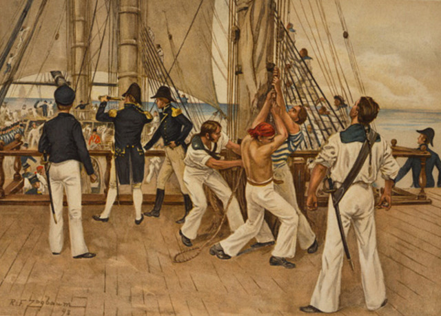 The War of 1812: The USS Constitution defeats HMS Guerriere