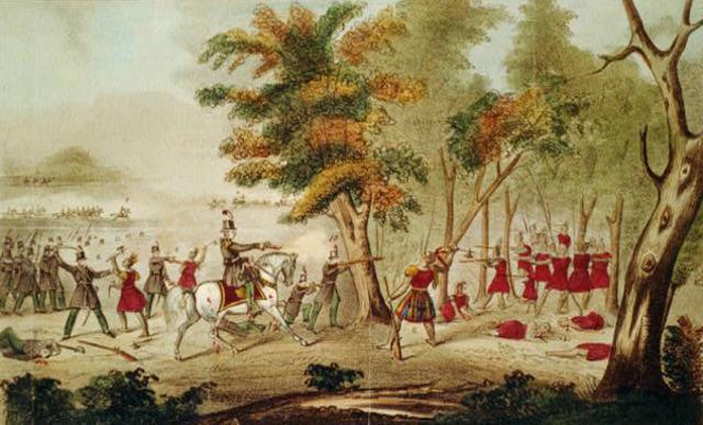 The War of 1812: Battle of Thames