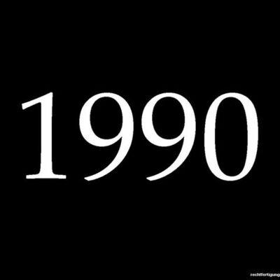 1990s timeline