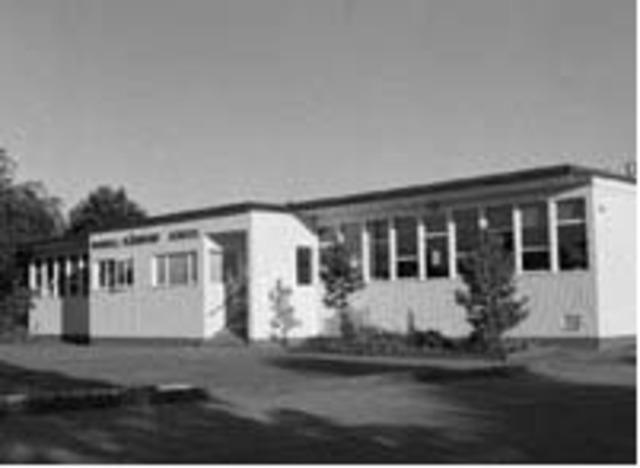 Blundell Elementary School Opened