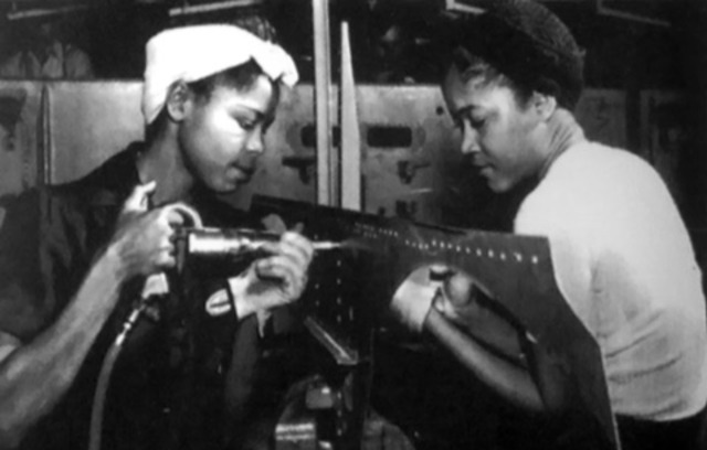 WWII shortage of workers