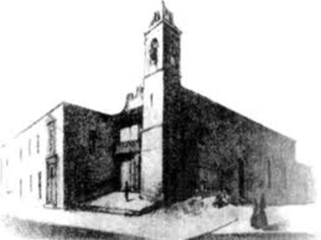 Fundacion de la Primera Escuela de Ingenieros