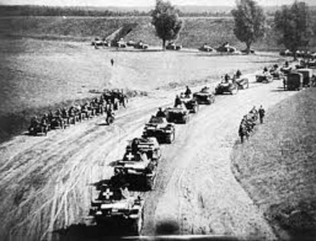 German Troops Occupy The Sudetenland