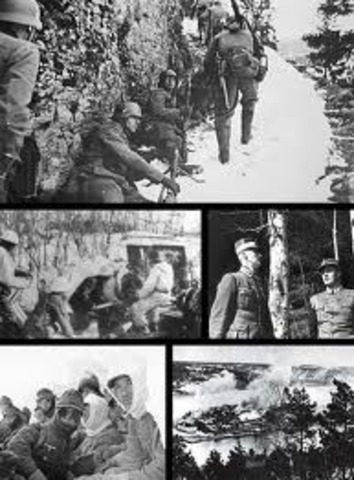 Nazis invade Denmark and Norway