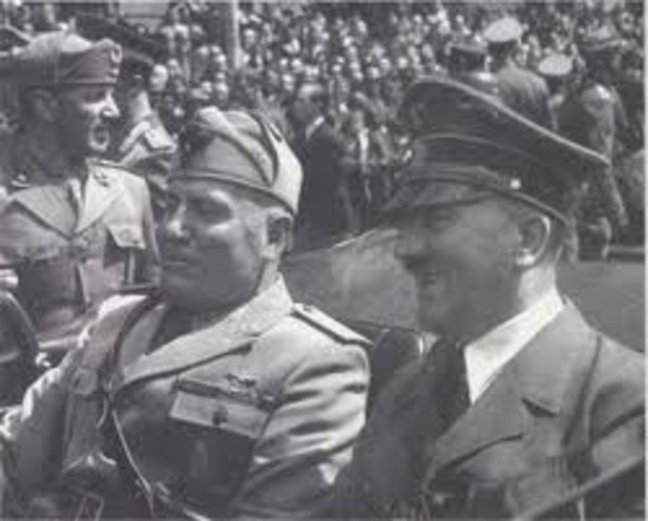 Hitler and Mussolini meet in Munich; Soviets begin occupation of the Baltic States