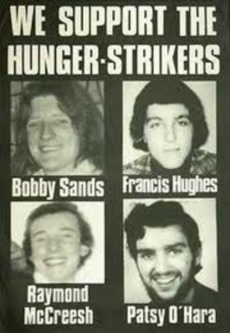 First Hunger Strike