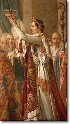 Napoleon crowns himself