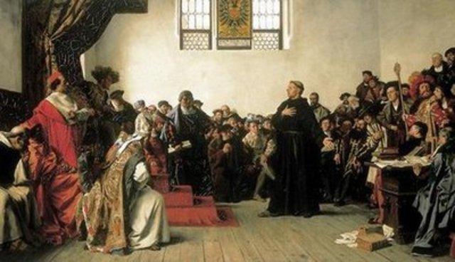 The Disputation at Heidelberg begins