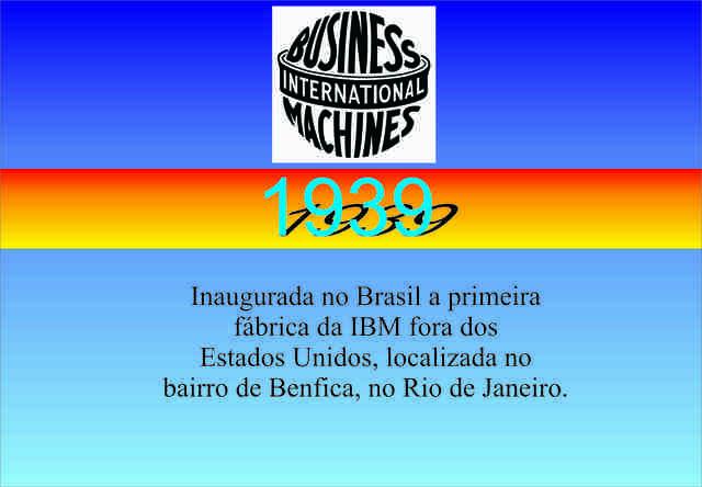 Inauguração da Fábrica da IBM no Brasil