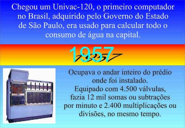 Chegou o UNIVAC-120