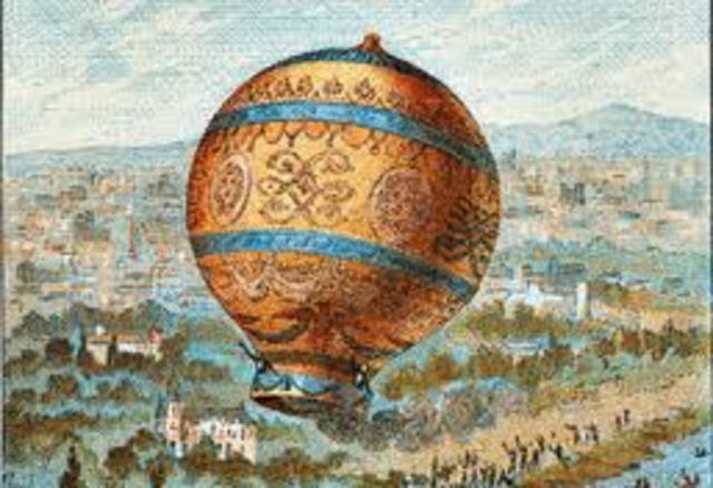 First Balloon Flight