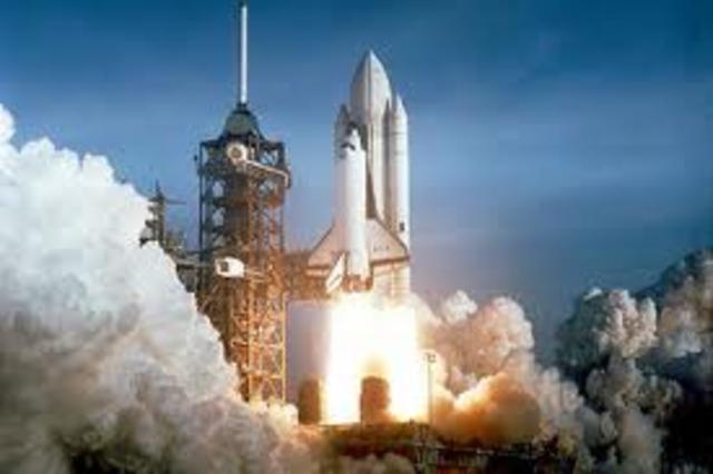 First Space Shuttle Flight