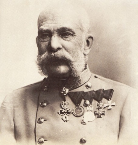 Emperor Franz Joseph of Austria-Hungary declares war on Serbia and Russia.