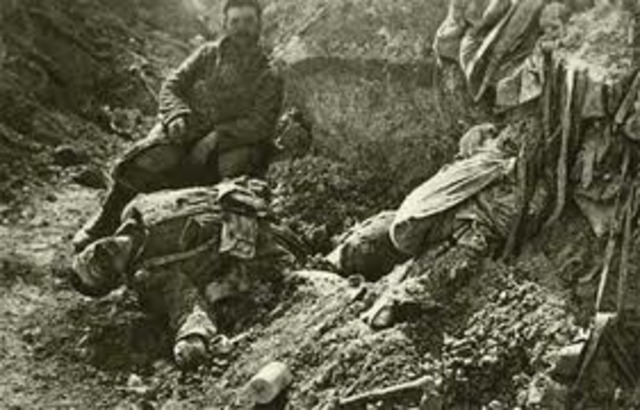 27,000 French soldieers are killed on this single day in an offensive thrust to the east of Paris, towards the German borders