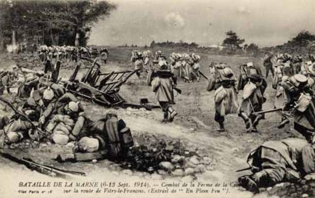 Battle of the Marne begins.