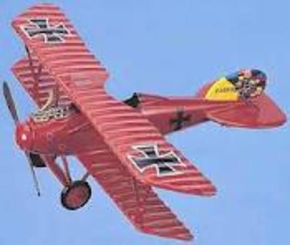 First German air raid on Britain