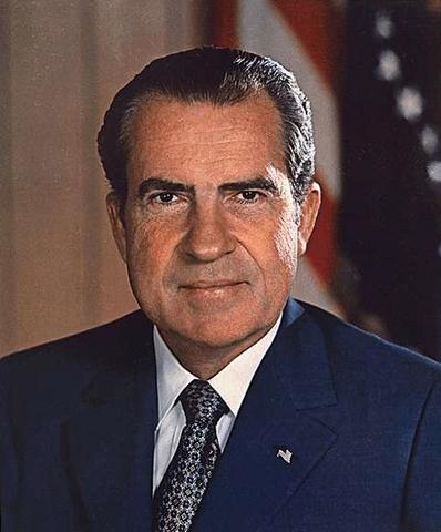 Richard Nixon Resigns as President