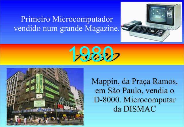 1º Computador vendido em Magazine