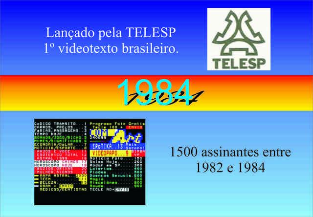 Videotexto da Telesp