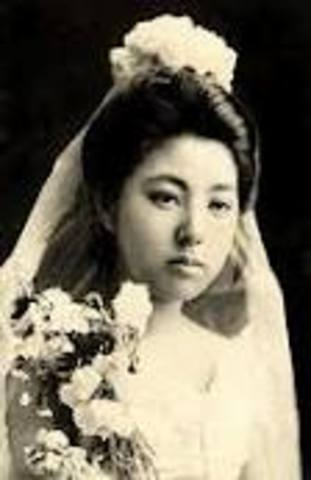 """Estimated 19,000 Japanese """"picture brides"""" were processed through Angel Island"""