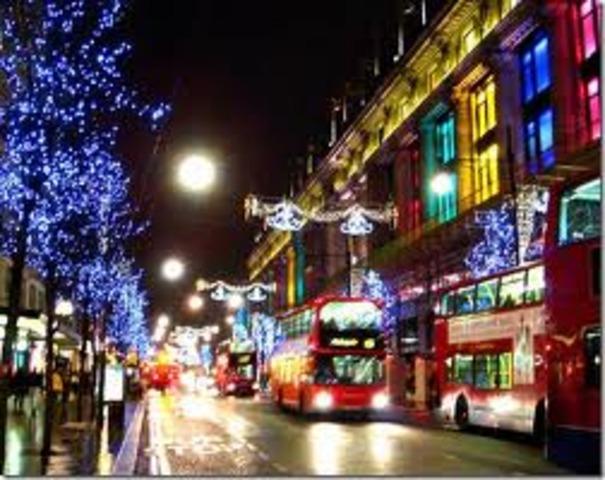 Primer visita a Londres