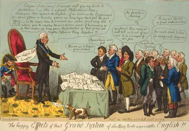 Causes of the War of 1812: The Embargo Act is signed into law