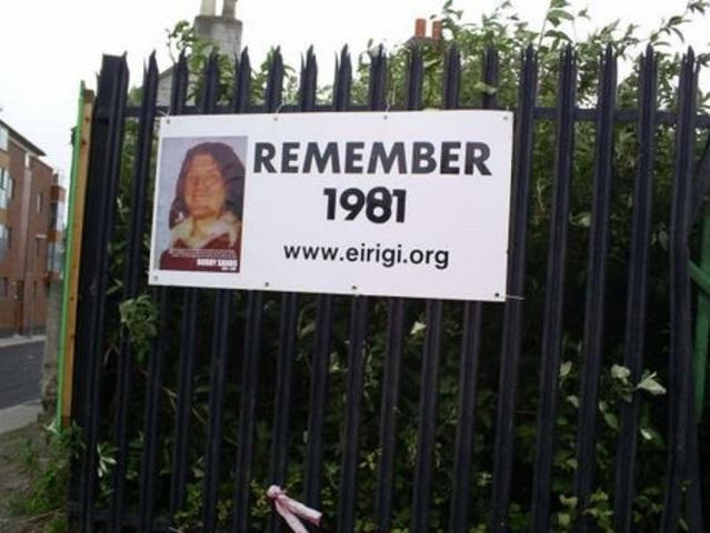 Bobby Sands dies on 66th day of hunger strike