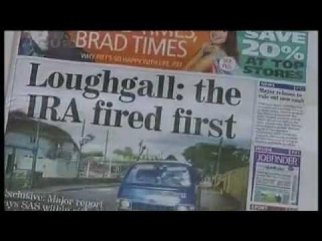 Deaclan Arthurs, Padraig McKearney and six other IRA members of E. Tyrone Brigade are killed