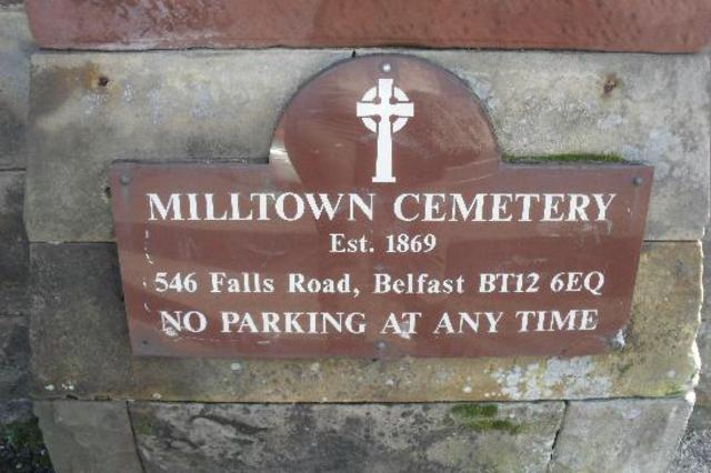 Milltown cemetery in Belfast