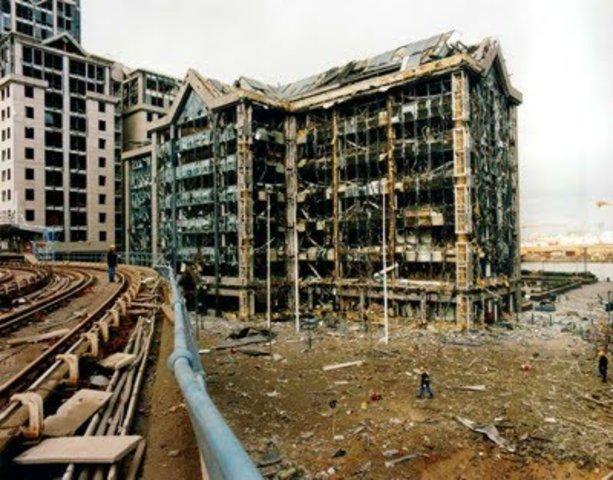 Canary Wharf bomb